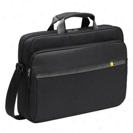 Case Logic 15-17&quot; Laptop Briefcase - Enc117- Black