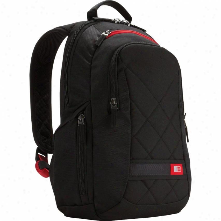 """Case Logic Dobp-114 14"""" Laptop Backpack - Black"""