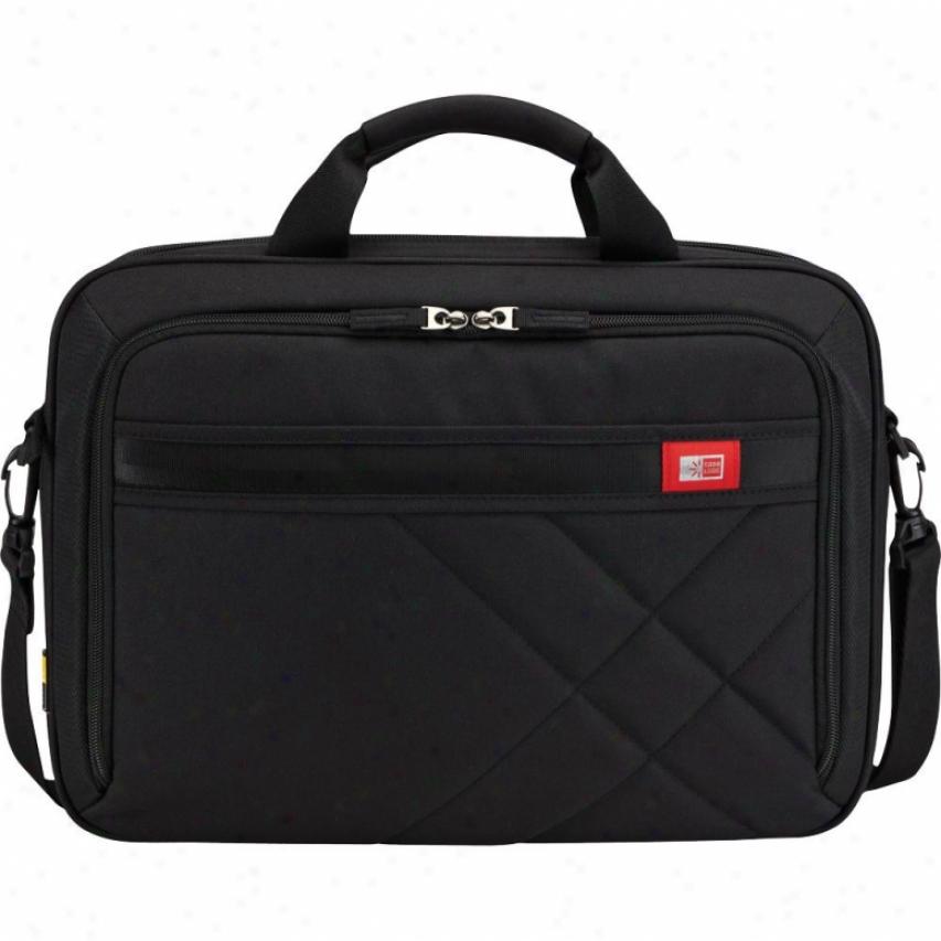 """Case Logic Dlc-115 15.6"""" Laptop Backpack - Black"""