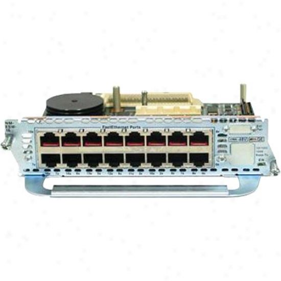Cisco Nm-16esw 16-port 10/100 Ethernet Module