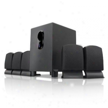 Coby 300w 5.1-channel Speaker Systm