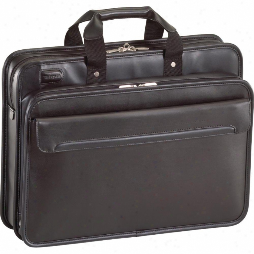 "Commuter Leather 16"" Lqptop Case - Black Tet027us"
