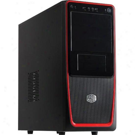 Cooler Master Elite 311 Black W/red Trim