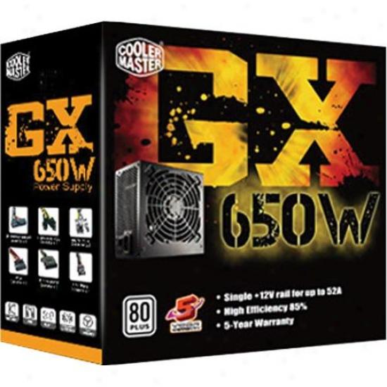 Cooler Master Rs650-acaad3-us Gx Series 650w Atx12v Power Supply