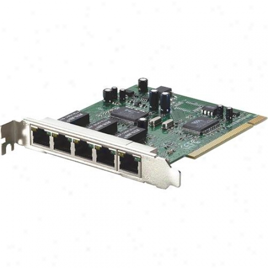 C Technologies 5-port L2 Snmp Pci Switch Card - Ethernet Adapter - Fnc-0600txm