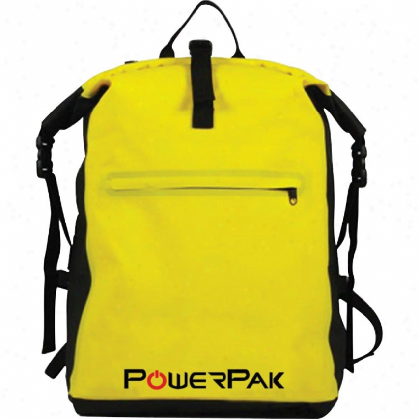 Creatkve Concepts Waterproof Backpack Yellow