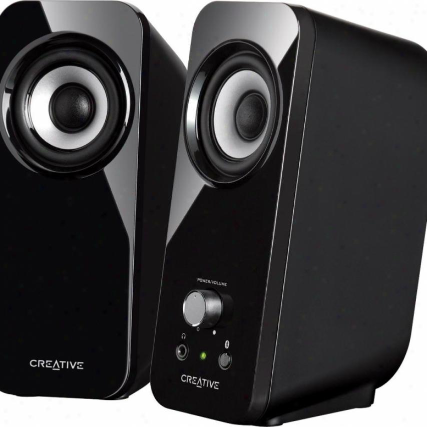 Creative Labs Animate T12 Bluetooth Wireless Speakers Mf1650
