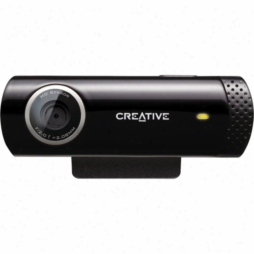 Creative Labs Earnest! Cam Chat Hd Webcam Vf0700