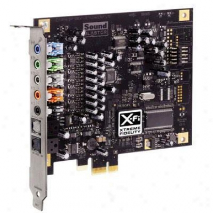 Creative Labs Pcie Sound Blaster X-fi-vp