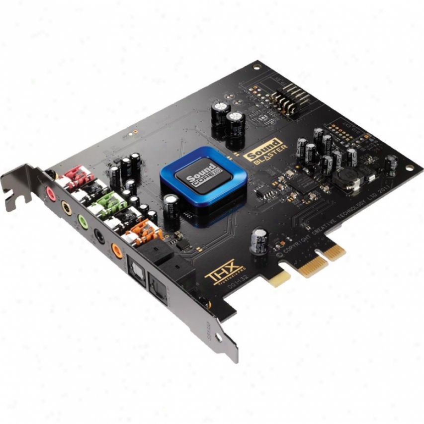 Creative Labs Sound Blaster Recon3d Thx Pcie Sound Card - Sb1350