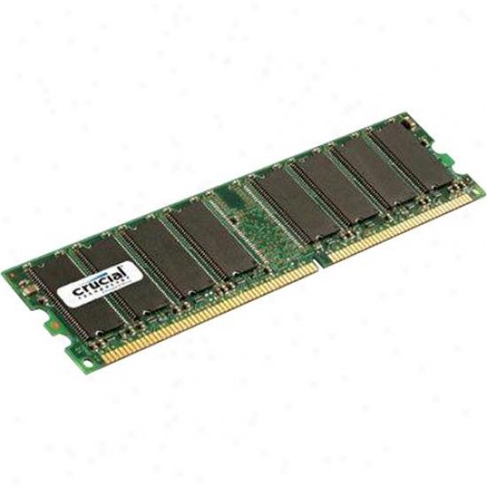 Crucial 12864z40b 1gb, 184-pin Dimm, Ddr Pc3200 Memory Module