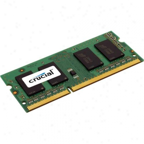 Crucial 2g25664bc10 2gb, 204-pin Sodimm, Ddr3 Pc3-8500 Memory Module