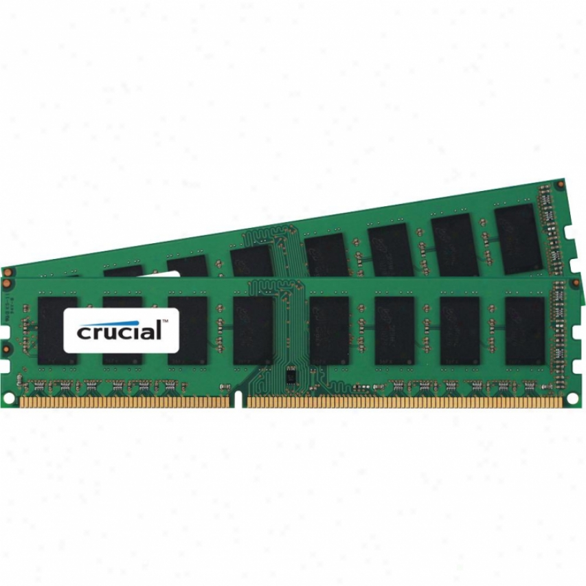 Crucial 8gb (2 X 4gb) 240-pin Ddr3 1333 Sdram Desktop Memory - Ct2kit51264ba1339