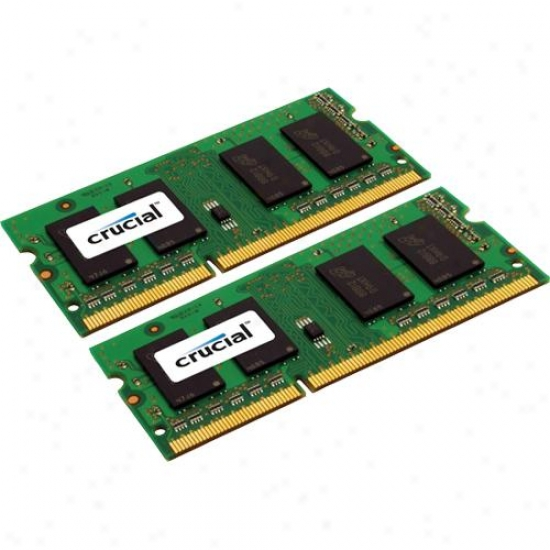 Crucial 8gb Pc3-8500 Ddr3 Notebook Fame Kit Ct2kit51264bc1067