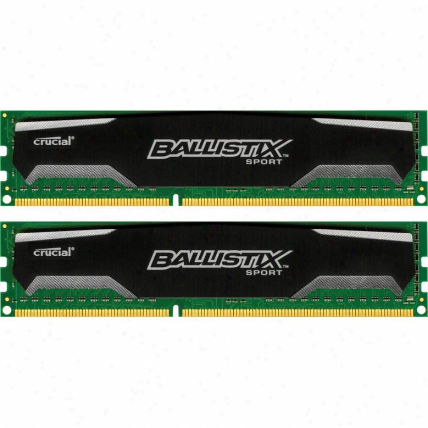 Crucial Ballistix Sport 4gb (2 X 2gb) 240-pin Ddr3 1600 Sdram Deskkop Memory