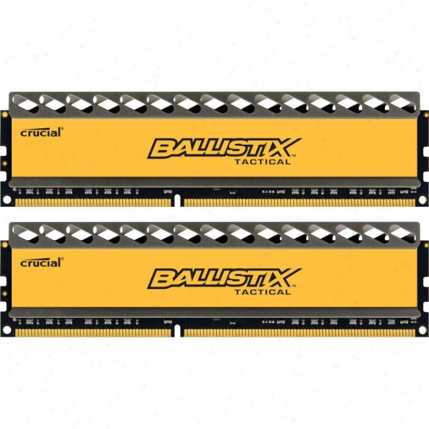 Crucial Ballistix Tactical 8gb (2 X 4gb) 240-pin Ddr3 1600 Sdram Desktop Memory