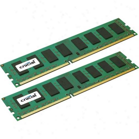 Crucial Ct2kit25664ba1339 4gb Kit (2gbx2) 240-pin Ddr3 1333 Sdram Deesktop Memory