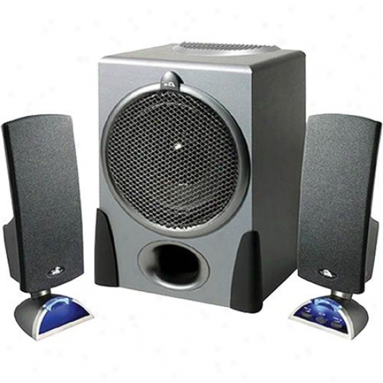 Cyber Acoustics 2.1 Black Speaker System