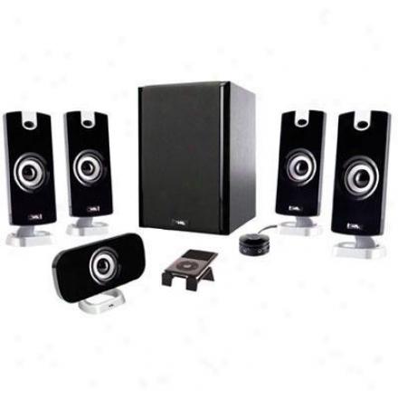 Cyber Acoustics 6pc Speaker System