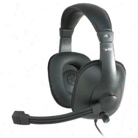 Cyber Acoustics Pro Grade Stereo Headset/mic