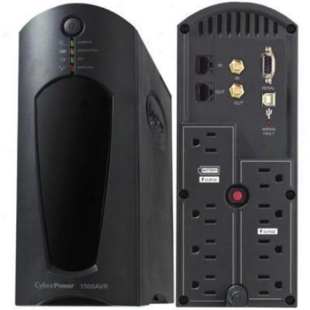 Cyberpower 1200va 720w Ups W Avr