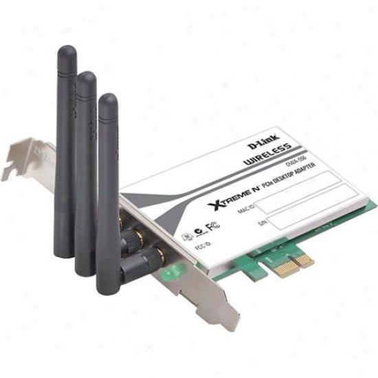 D-link Dwa-556 Xtreme N Pci Express Desktop Adapter