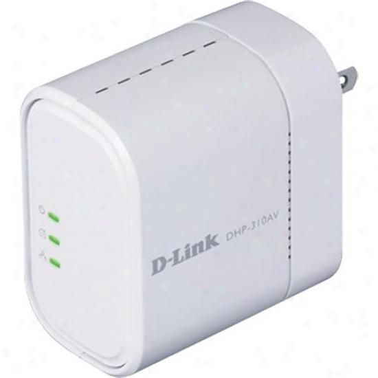 D-link Powerline Av Mini Adapter - Dhp-310av