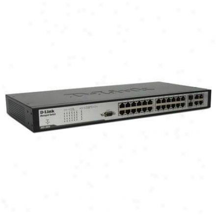D-link Switch 24-port 10/100mbps Mgmt