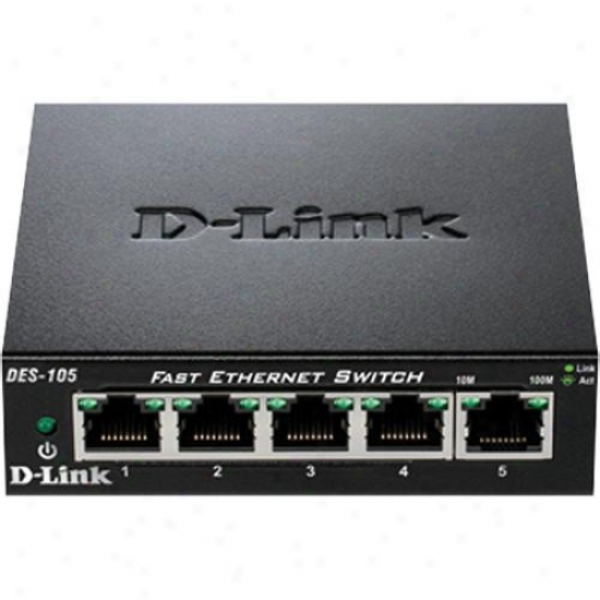 D-link Switch 5-port 10/100 Desktop