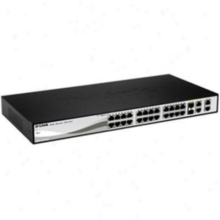 D-link Web Smart 24-port 10/100mbps