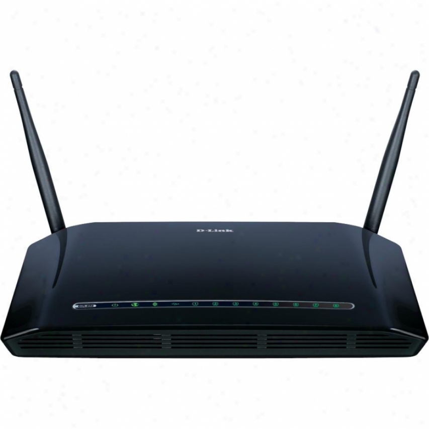 D-link Wireless N 8-port Router
