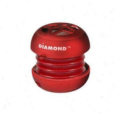 Diamond Mini Rocker Mono Red
