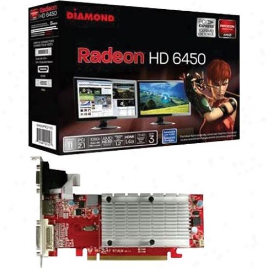 Diamond Radeon Hd6450 1gb Gddr3