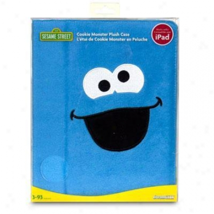 Dreamgear Cookie Monster Plush Portfolio Conducive to Ipad - Dgipad-6401