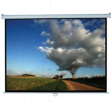 "Elitescreens 135"" (16:9) Manual Draw Down"
