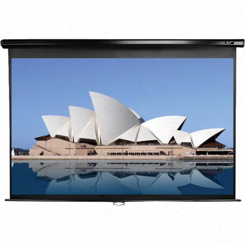 "Elitescreens 80"" Manual Pull-down Front Projection Screen - M80uwh"