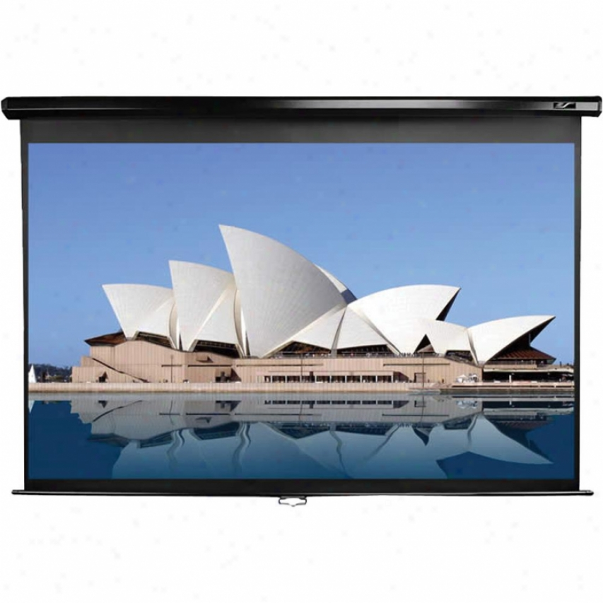 "Elitescreenns 86"" Manual Pull Down Screen"