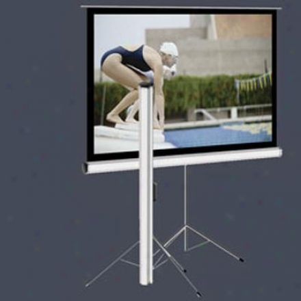 "Elitescreens 99"" (1:1)tripod Portable"