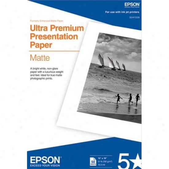 """Epson Archival Matt ePaper (13"""" X 19"""")"""