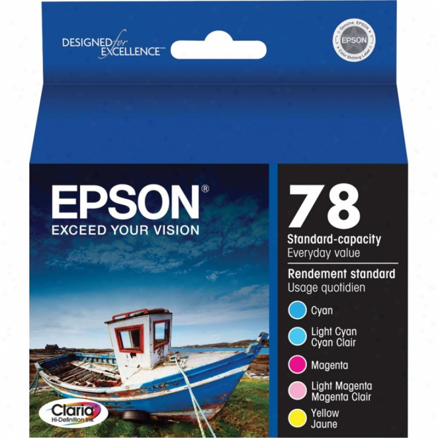 Epson Claria Hi-definition Color Ink Multipack
