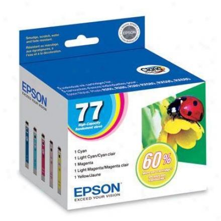 Epson Claria Multi-color Pak Hi-cap