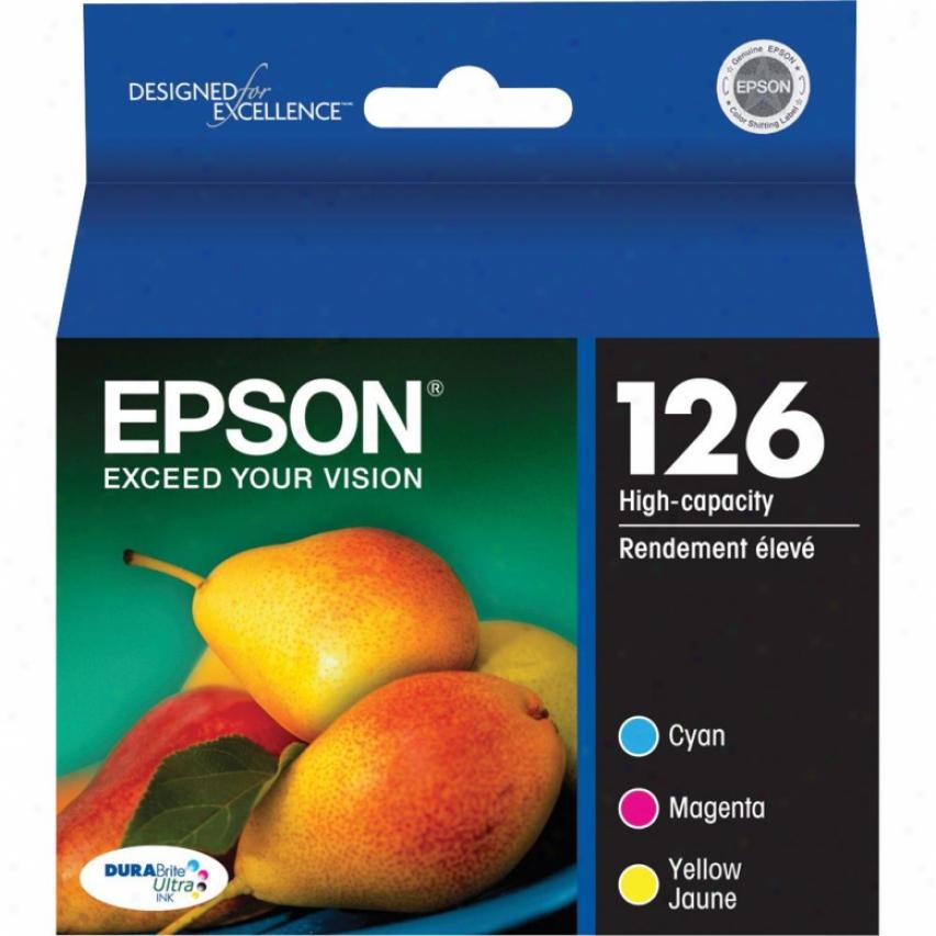 Epson Color Multi-pack Durabrite 126