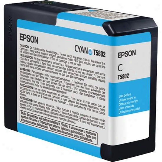 Epson Cyan Ultrachrome K3 Ink