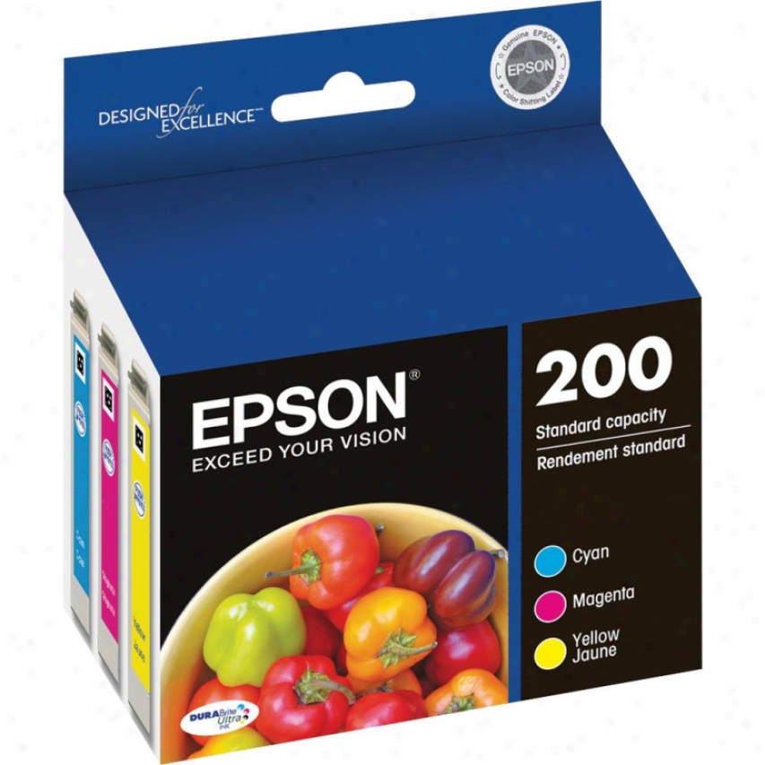 Epsln Durabrite Ultra Color Multipack Ink Cartridge T200520