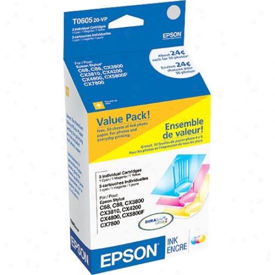 Epson Durabrite Ultra Value Pack