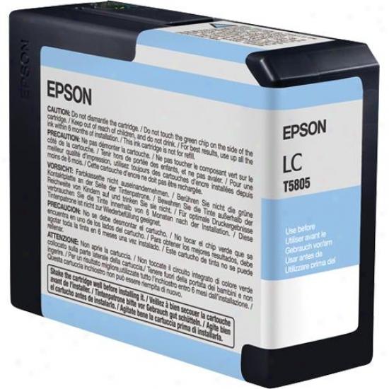 Epson Light Cyan Ultrachrome K3 Ink