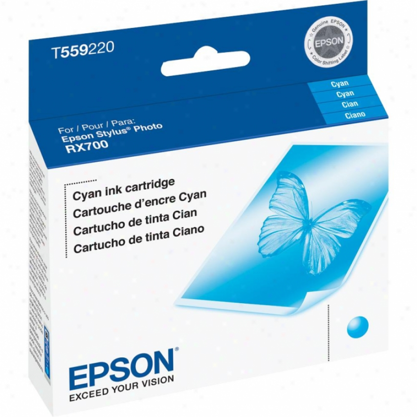 Epson Rx700 Cyan Ink Cartridge