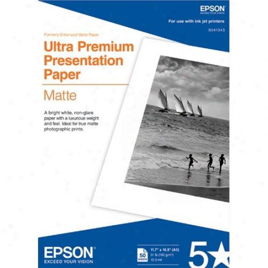 Epson S041343 Archival Matte Paprr