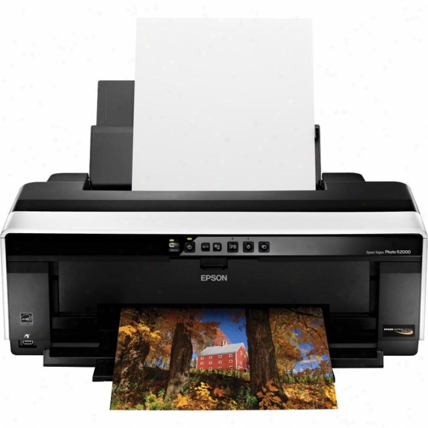 Epson Stylus Photo R2000 Wireless Ink Jet Printer