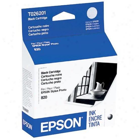 Epson T026201 Stylus Photo 820 Black Ink Cartridges